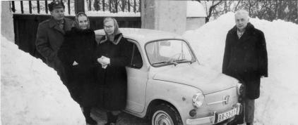 Rodina P. Olejníka v Andělské hoře