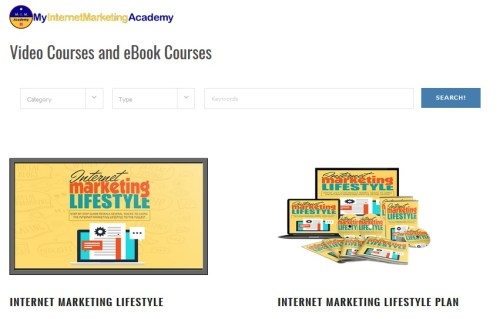 my internet marketing academy