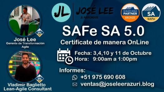 Curso SAFe SA