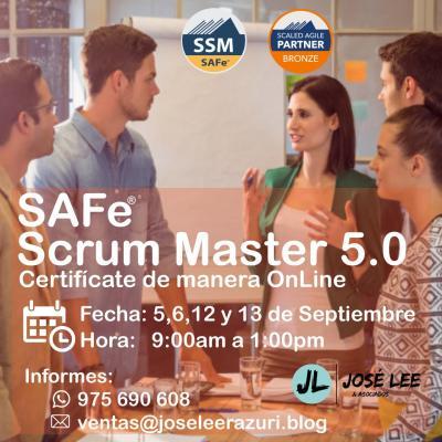 Curso SAFe Scrum Master