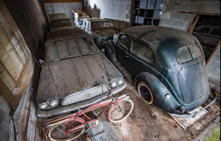 tesoros en el garaje