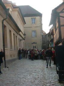 Praga, callejón del oro