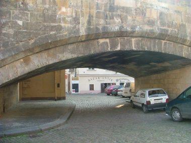 Praga, puente de Carlos, Malá Strana