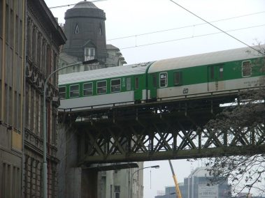 Praga, tram cerca Křižíkova ulice