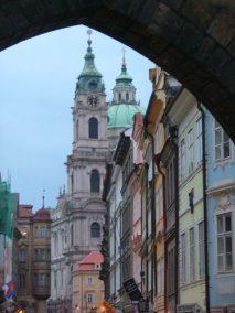 Praga, iglesia de San Nicolás,