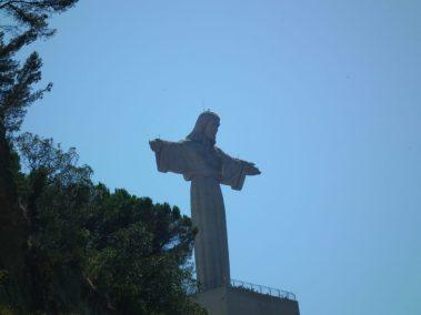 Almada, Calcihas, Lisboa. Cristo Rey de Lisboa