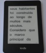 Kindle Paperwhite - corpo grande