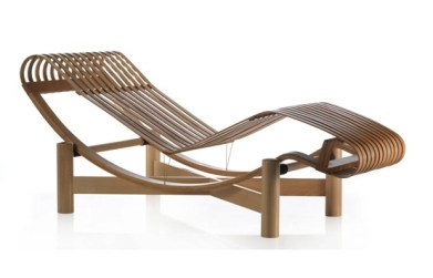 Chaise Long de Charlotte Perriand.