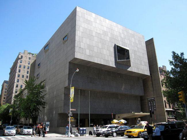 Museo Whitney de Arte Americano.