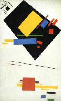 Suprematismo, Kazimir Malevich.