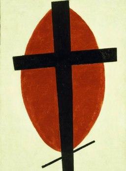 Suprematismo místico de Kazimir Malevich.