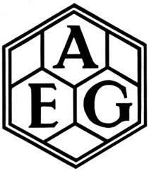 Logotipo AEG de Peter Behren