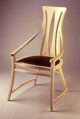 Silla diseñada por Peter Behren para su casa.