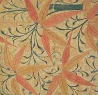 "Papel pintado ""Bamboo"", 1872, Godwin."