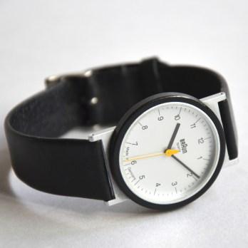 Reloj de pulsera de Braun.