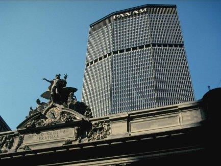 Walter Gropius, edificio de la Pan Am, Grand Central City Building, en Nueva York.