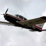 Volando la Pipper Arrow II