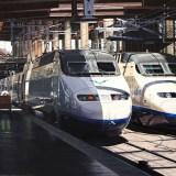 Trenes Alstom serie 100 en Estación Puerta de Atocha