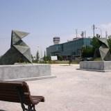 Monumento conmemorativo al hermanamiento entre San Sebastián de los Reyes y Baunatal