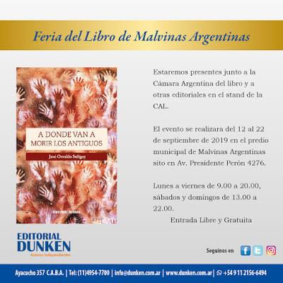 Feria del libro Islas Malvinas