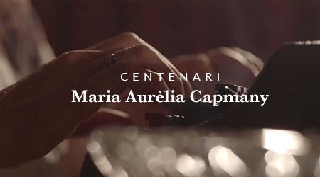 CENTENARI MARIA AURELIA CAPMANY