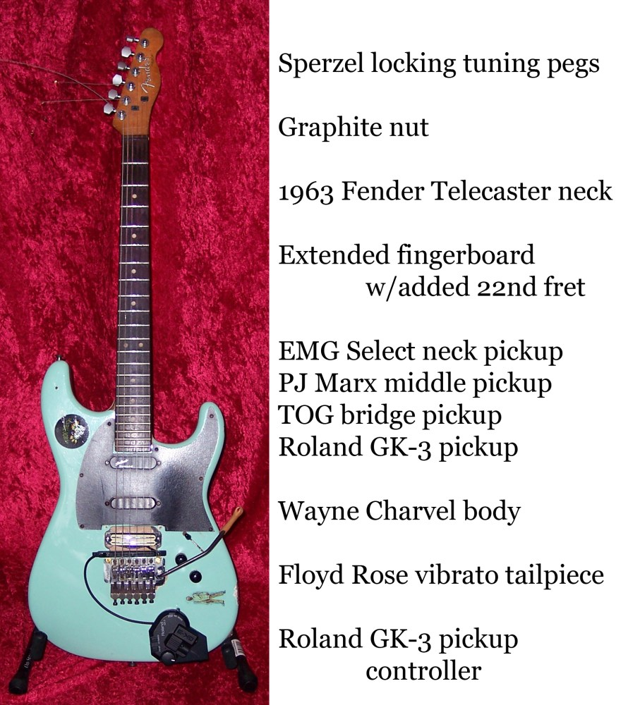 DR. FRANKENSTEIN and the QUEST for the PERFECT GUITAR, or the DIABOLICAL CREATION of