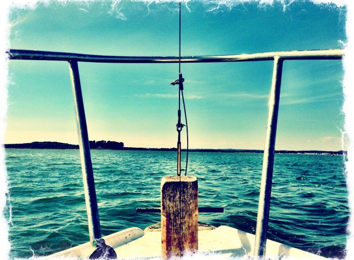 Water ocean boat prow