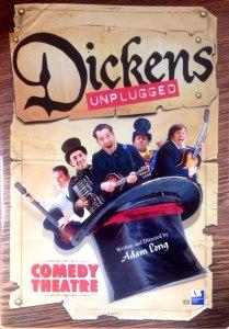 Dickens Unplugged Comedy Theatre London Joseph Attenborough