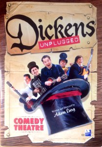Dickens Unplugged Comedy Theatre London Joseph Attenborough