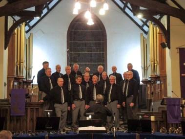 Men's Chorus in Camrose