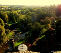 A bird's eye view from the top of Blarney Castle