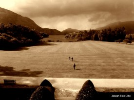 View of Torc Mountain from Muckross House