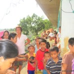 Mayon Volcano Relief: Anoling Relocation Center, Albay