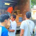 Mayon Relief Operation: Baligang Evacuation Center