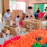 Mayon Relief: Distribution in Different Evacuation Centers