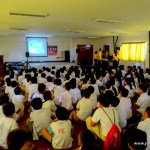 Film Showing: Grade 5 & 6 Students of Pinagbuhatan Elem School
