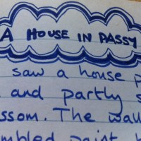 Reading old notebooks - and cringing