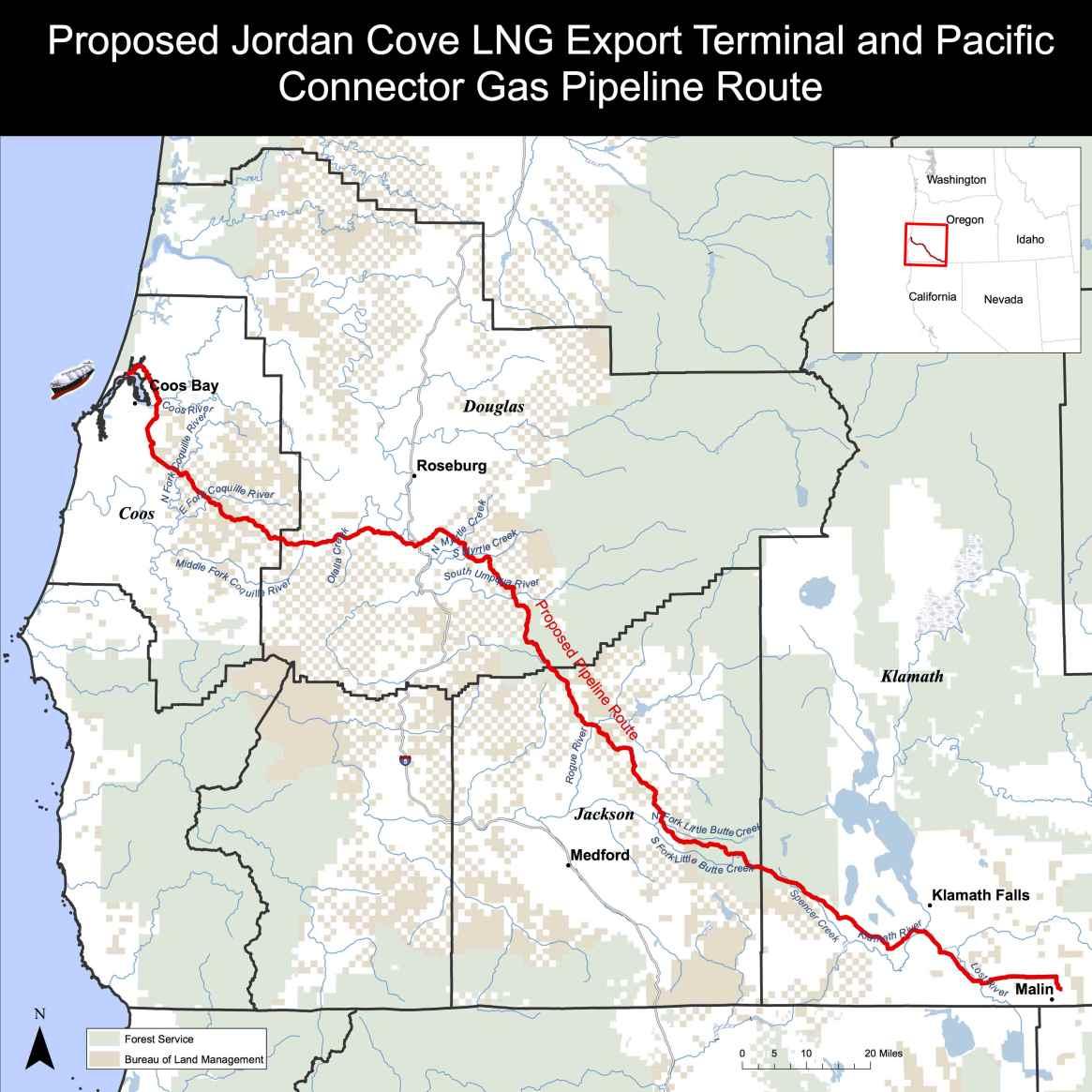 Jordan Cove - Pacific Connector Pipeline