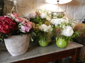 decorations florales compositions