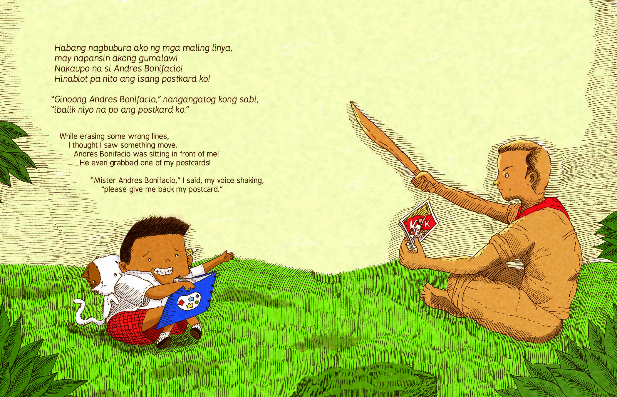 Book Review And Giveaway Ngumiti Si Andoy