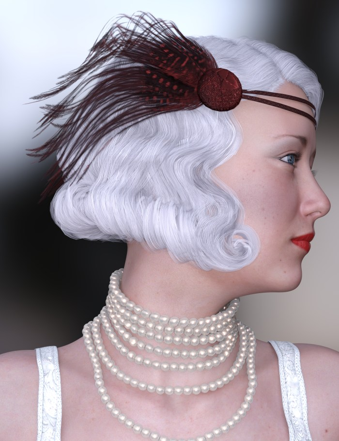 Flapper Girl Beauty