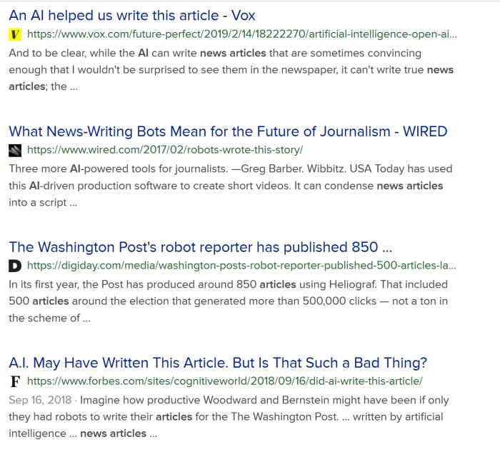 AI Writing Articles