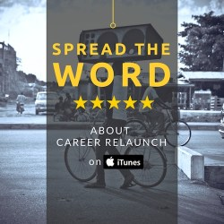 Review Career Relaunch on iTunes