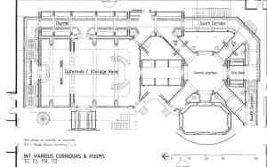 Destiny corridors, areas & rooms