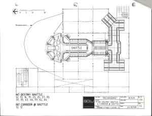 Destiny shuttle and corridor