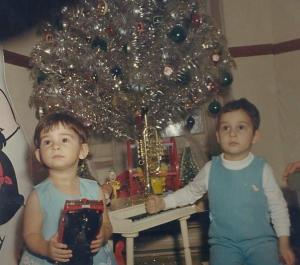 Speaking of Christmas trees, I miss that silver rod and tinsel monstrosity that seemed to celebrate the fact that it wasn't a real tree, not even close.