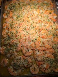 Mom's oven-baked shrimp