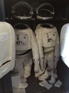 July 19, 2014: Friends, Food, And Space Suits!