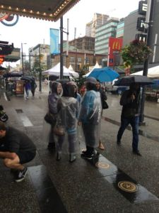 August 31, 2014:  Another Rainy Day, Another Rainy Food Festival!