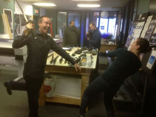 November 17, 2014: Welcome To The Gun (sword And Miscellaneous Weapons) Show!